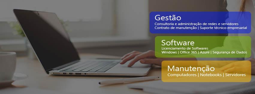 Redes Suporte Assistência Computadores Gestão Software Licenciamento